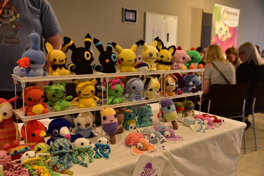 Amigurumi at AnimeCon